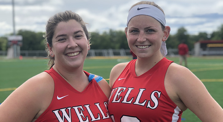 Senior Day Defeat For Wells Field Hockey
