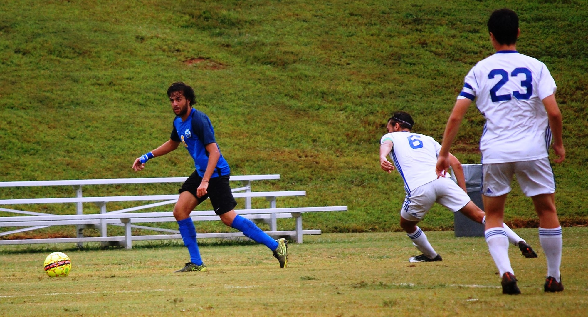 Men's Soccer's Balanced Attack Stops Williamson