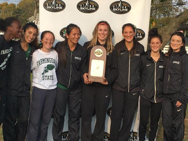 Women's Cross Country Wins First-Ever Skyline Championship; Men Take 5th