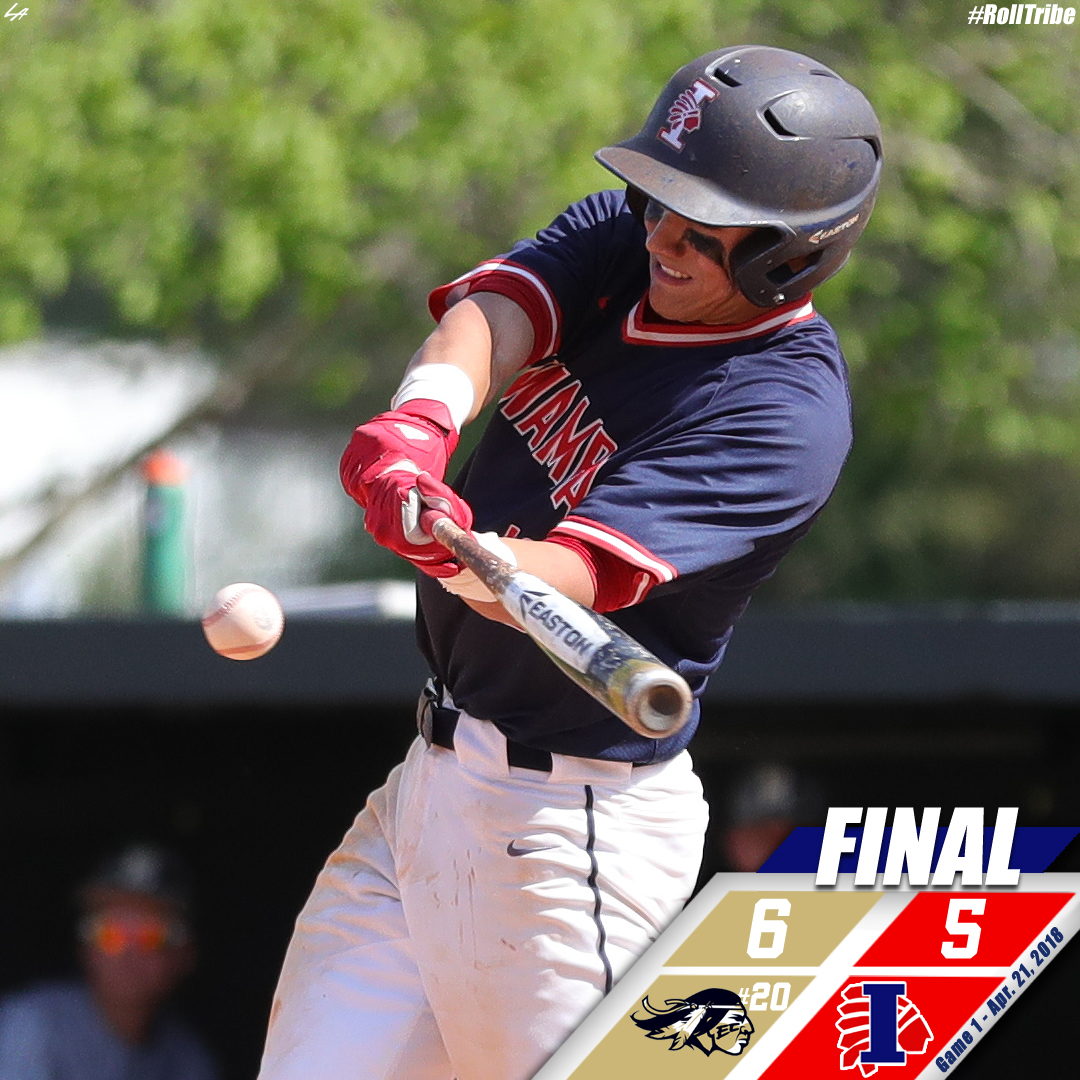 Comeback falls just short for Indians in game one with No. 20 East Central