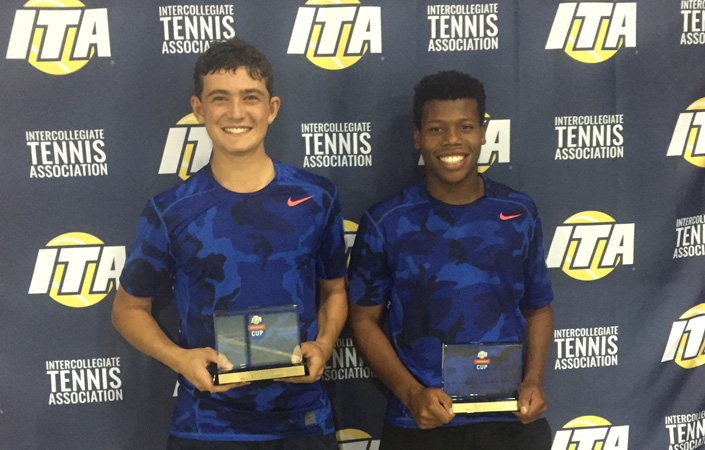 Omsky And Jemison Capture D-III Doubles Crown At ITA Oracle Cup