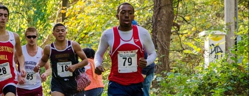 Derival Leads Men's Cross Country To 5th Place At CACC Championships