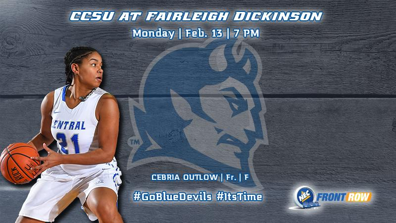 Women's Hoops' Head to Fairleigh Dickinson Monday