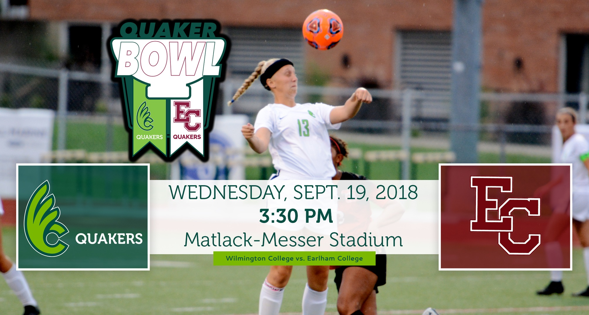 Women's Soccer Heads to Earlham for Quaker Bowl Rivalry Wednesday