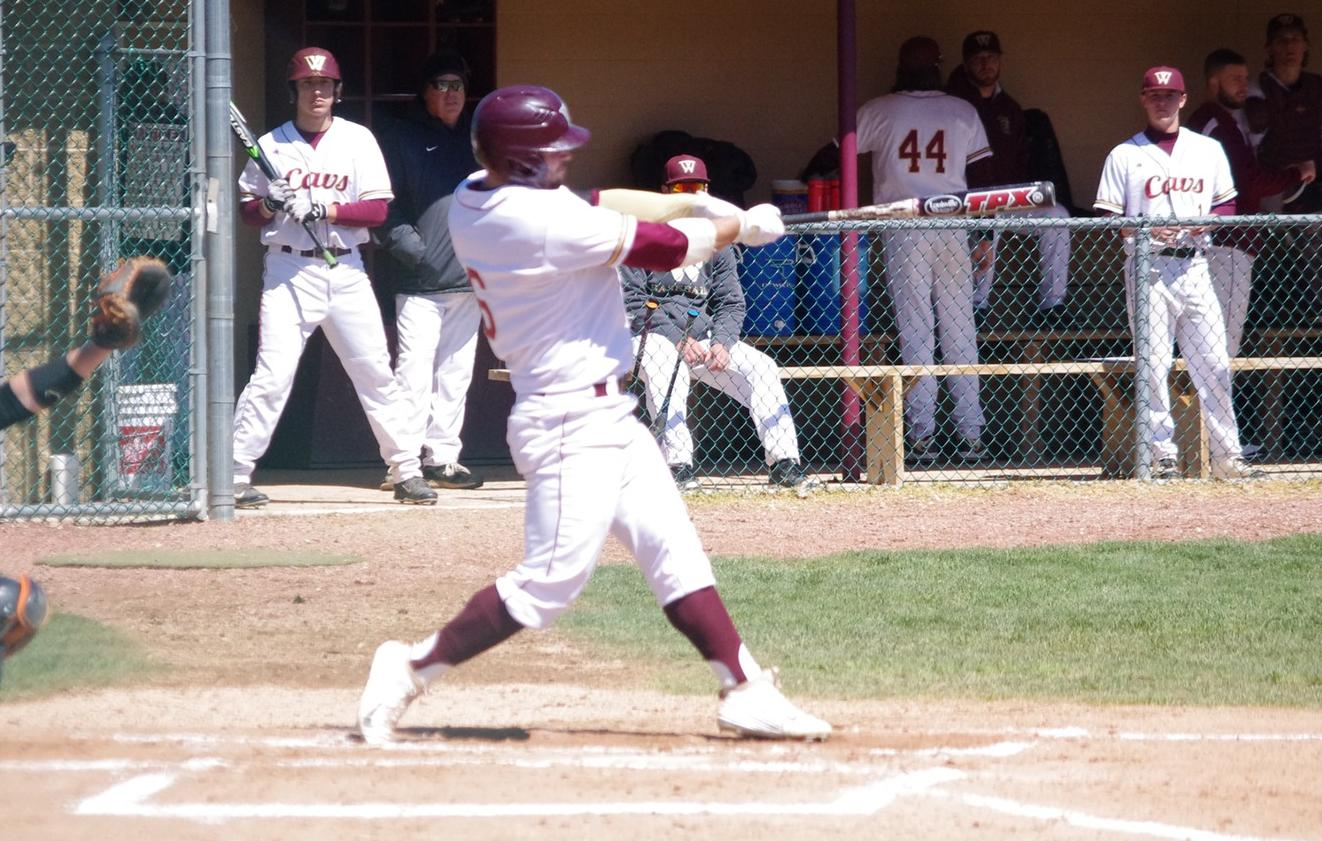 Baseball Splits Day, Series With Ashland