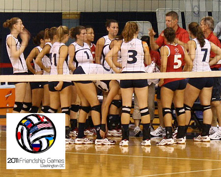 USA Deaf Women's Volleyball wins 2011 Friendship Games, USA men's team places third