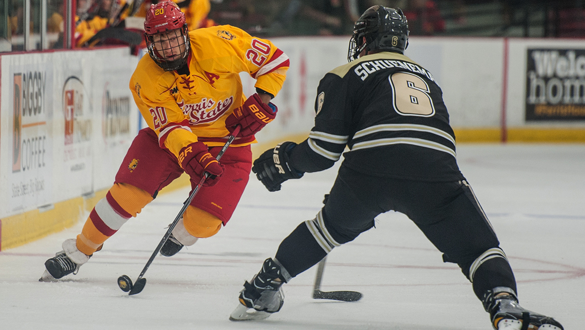 Big Second Period Fuels Ferris State Hockey To Home Ice Victory