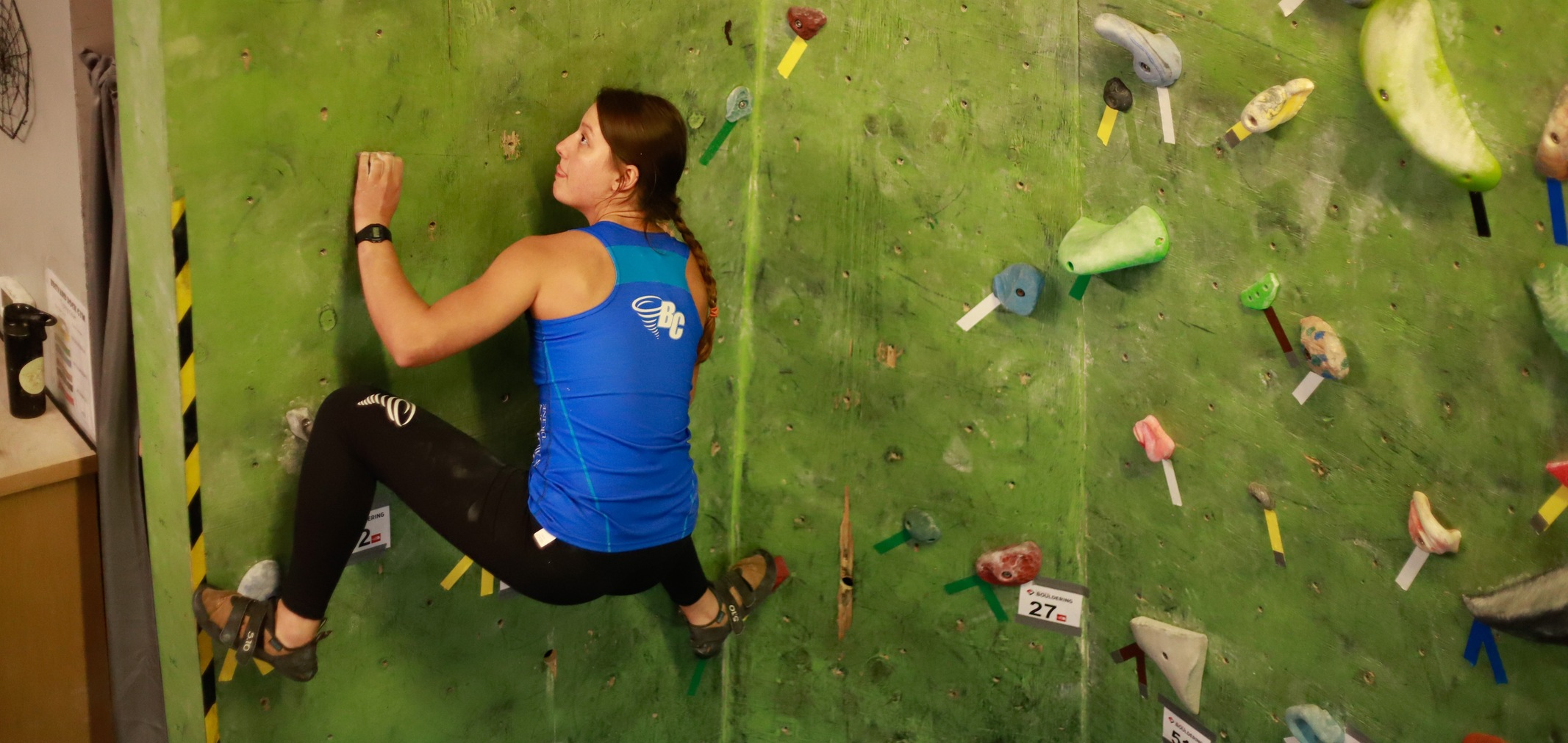 Brevard College Climbing Team Heads to USA Climbing Regional Championships