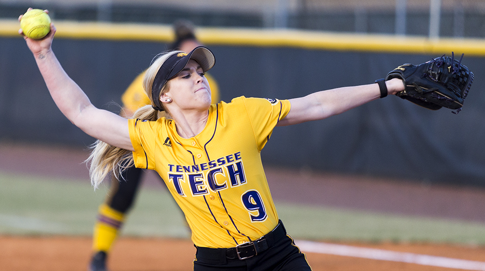 Waldrop gets second straight shutout as Tech splits with Belmont