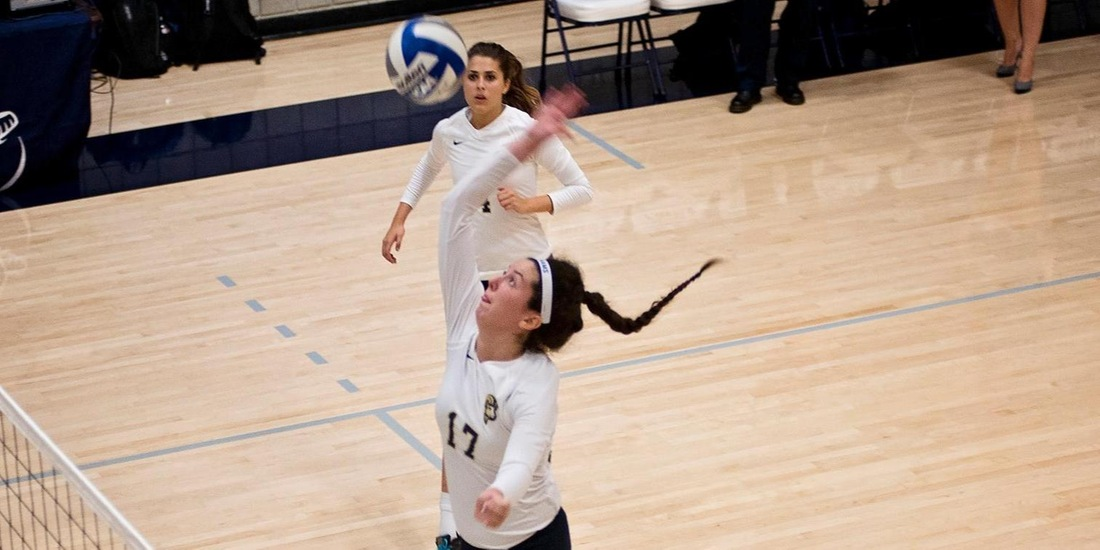 Volleyball Entertains Emmanuel Wednesday