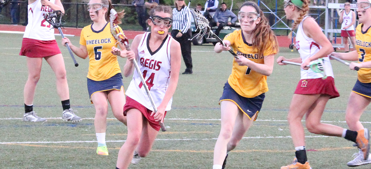 Women's Lacrosse Advances to NECC Championship with Win over Wheelock