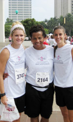 Titans Women's Basketball Racing for the Cure