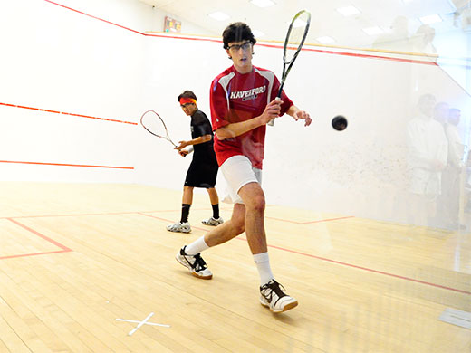 Challenging weekend continues for men's squash