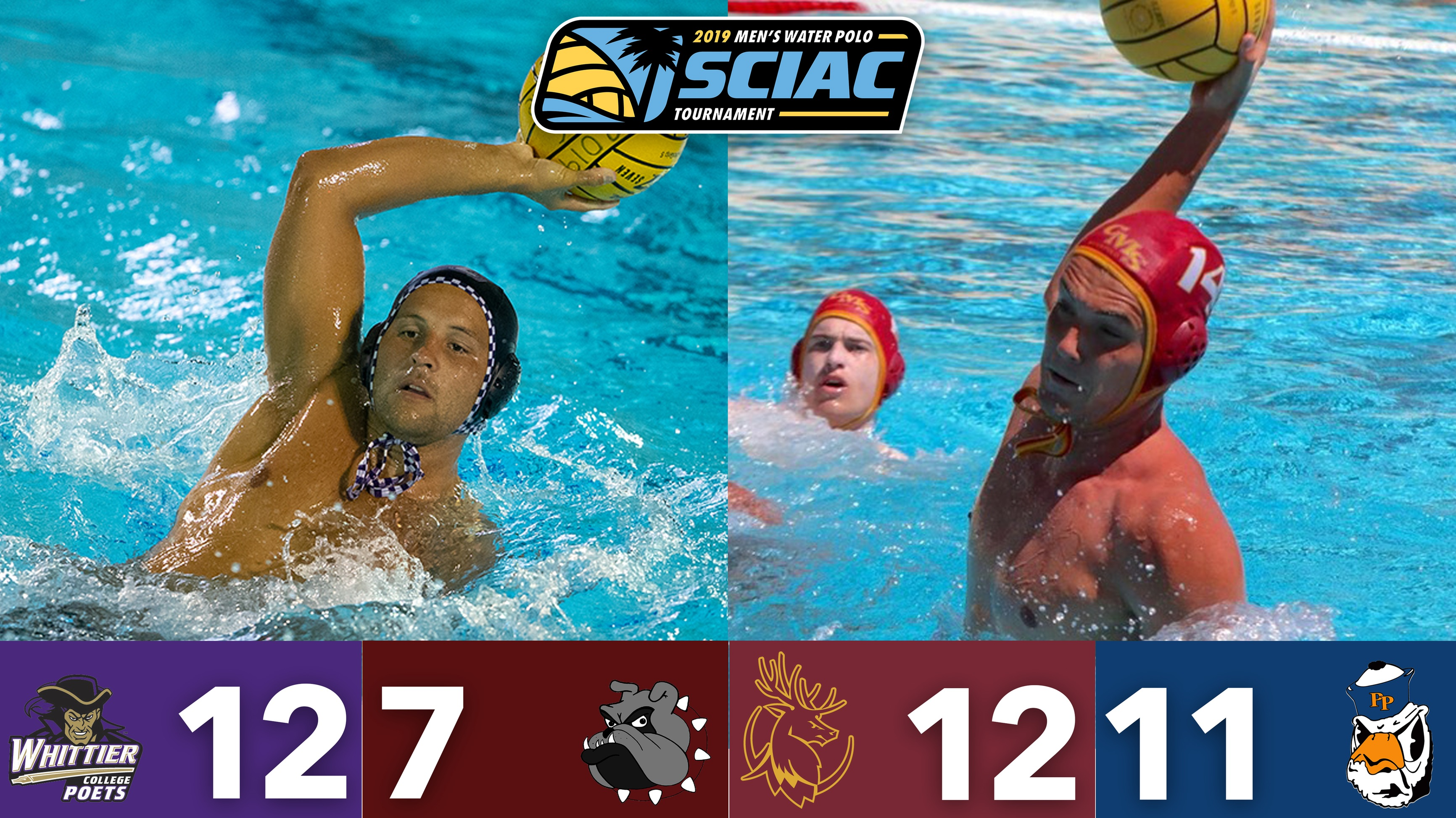 Whittier, CMS Advance to SCIAC Men's Water Polo Postseason Tournament Final