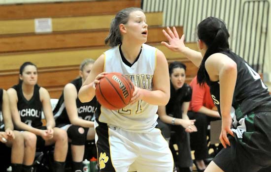 Women's Basketball Notches First Win