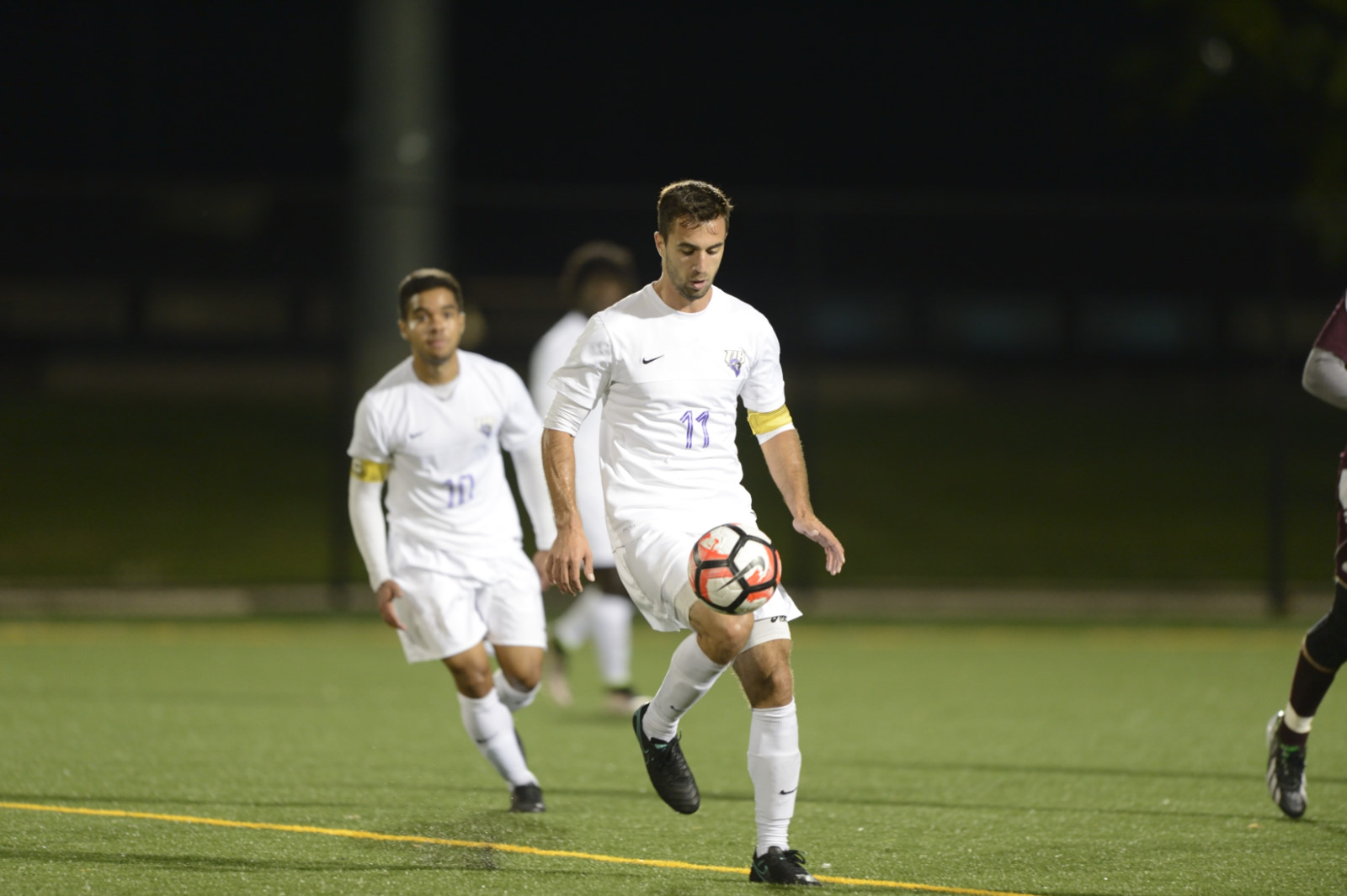 UB Men's Soccer Stays In ECC Championship Tournament Hunt With 6-2 Senior Day Win Over Queens (N.Y.) College
