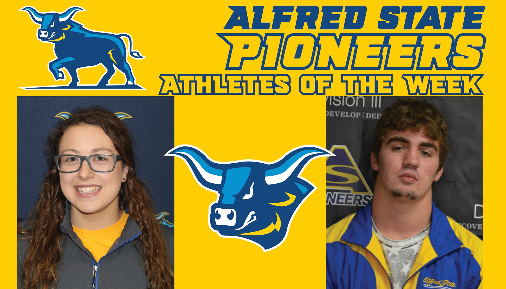 Kathryn Lewis and Tristan Almeter Named Athletes of the Week.