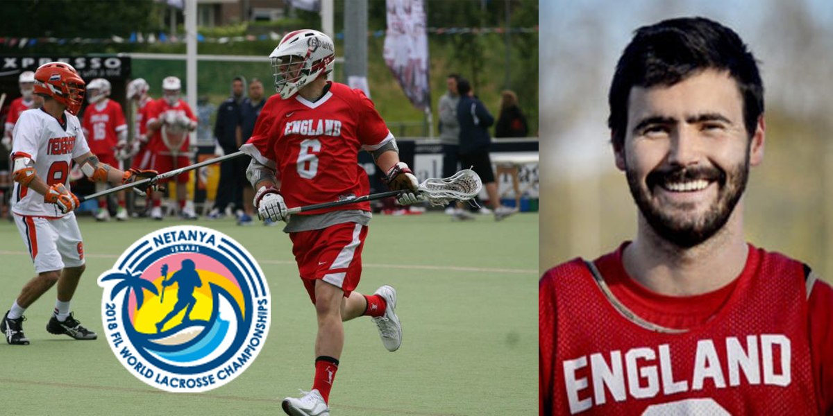 Sam Russell '12 and Thomas Brook '14 Represent England at FIL World Lacrosse Championships