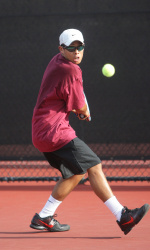 Men's Tennis Grabs 6-1 Win Over Cal Poly