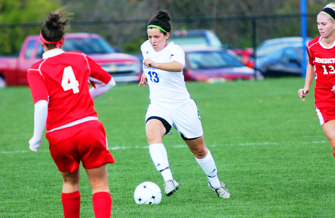 Ansems' Goal Leads to Sabre Victory vs. Dominican