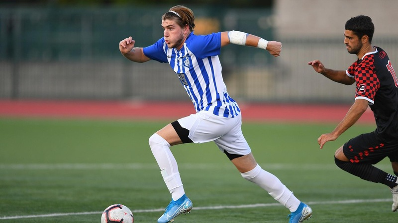 Men's Soccer Has Rally Fall Short to Robert Morris on Sunday