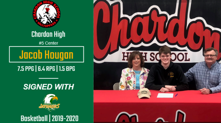 Hougan Signs with Jayhawks Basketball