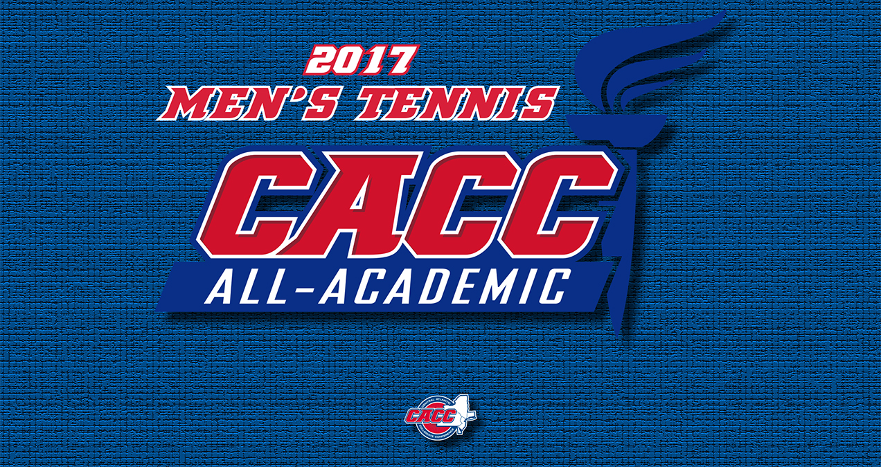 Eleven Student-Athletes Named to 2017 CACC Men's Tennis All-Academic Team