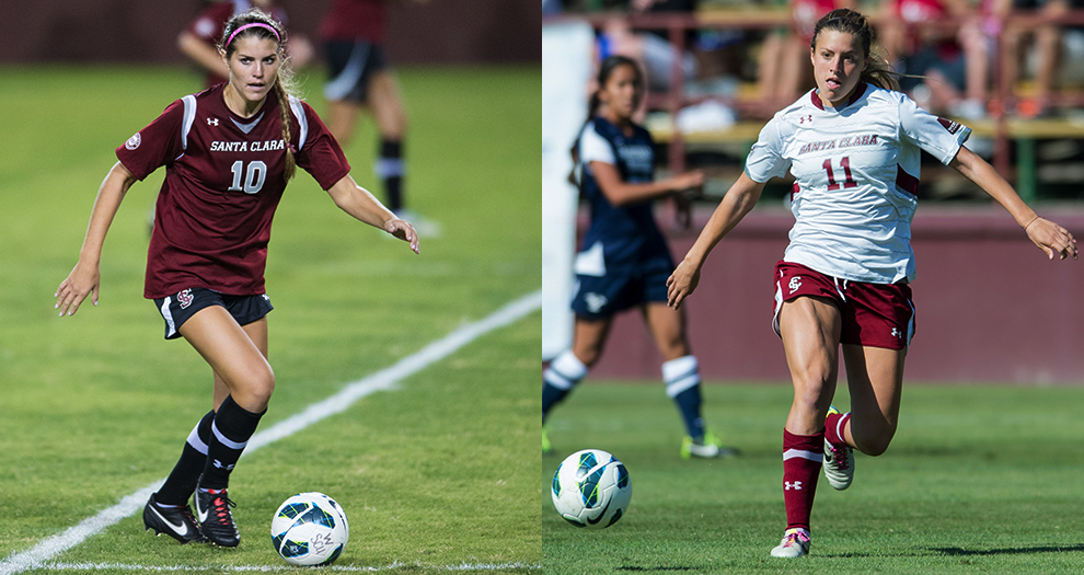 Women's Soccer Has Two Named to Preseason All-WCC Team