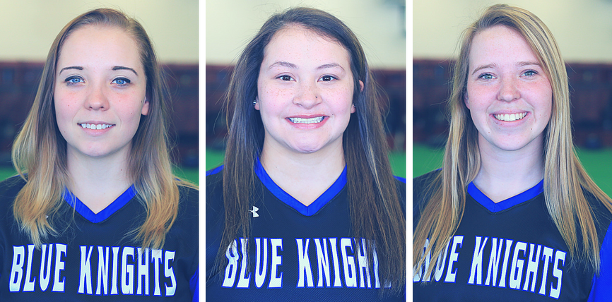 Jones, Garcia and King named to the All-Region 13 Softball Team.