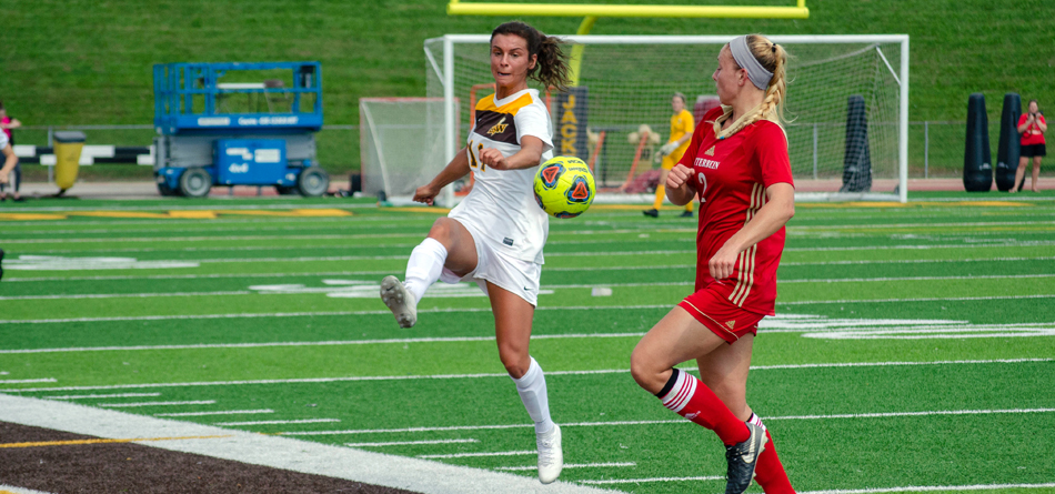 Senior three-time All-OAC and Academic All-OAC forward Rachel Bender (Photo courtesy of Lori Kumorek)