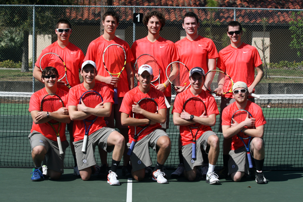 Men's Tennis matches best start in school history with 9-0 win over Alvernia