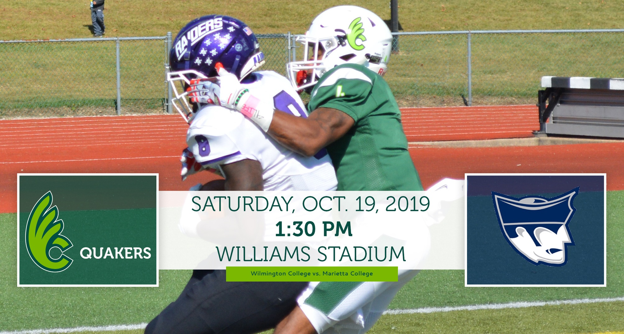 Football Hosts Marietta on Saturday