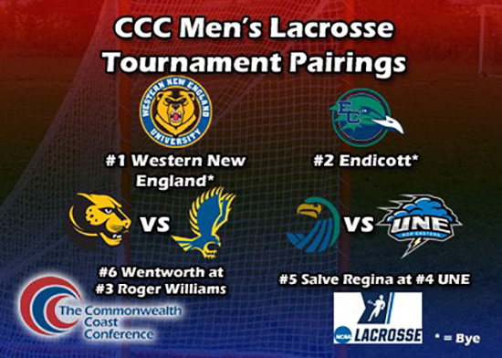 Men's Lacrosse Earns Number Six Seed in CCC Tournament