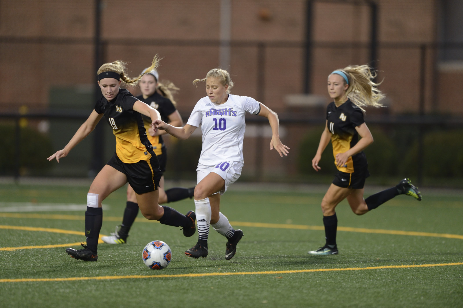 UB Women's Soccer Blanks Holy Family, 3-0, To Pick Up Homecoming Victory