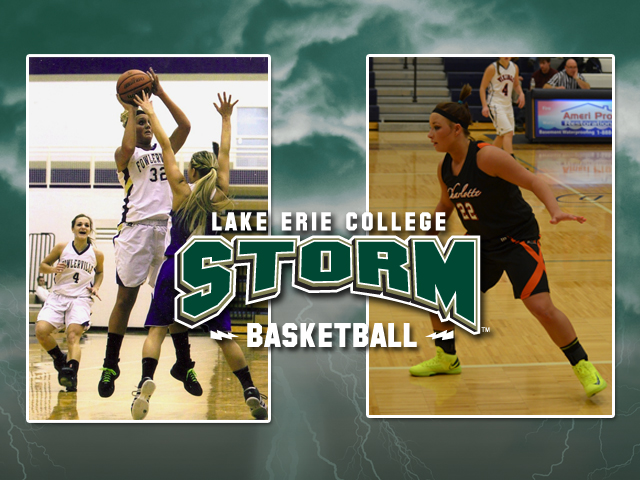 Kallie Allen (left) and Alyssa Brumbaugh (right) are the two newest members of the Storm 2013 women's basketball recruiting class.
