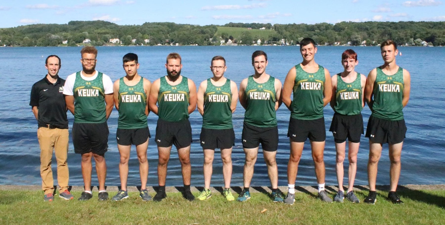 2019 Keuka College Men's Cross Country team