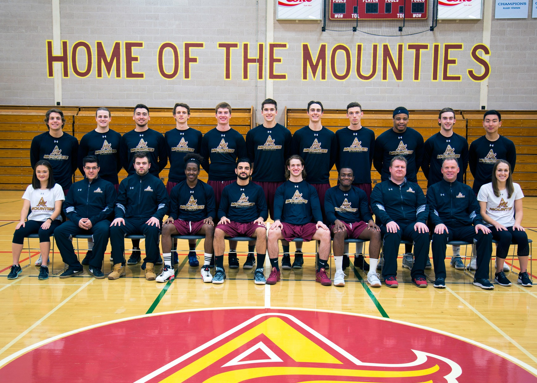 Men's Basketball 2017-18 Team Photo