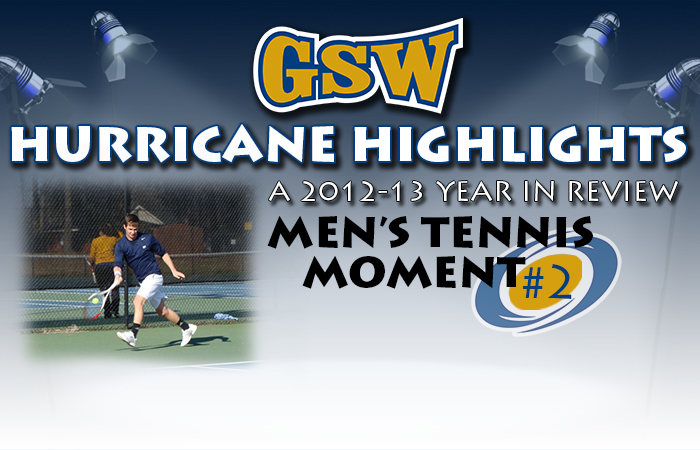 GSW Men's Tennis Hurricane Highlight #2: 'Canes Challenge DI Mercer