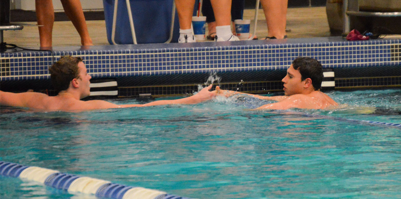 Trinity Men Hold Day Two Lead at SCAC Men's Swimming & Diving Championship