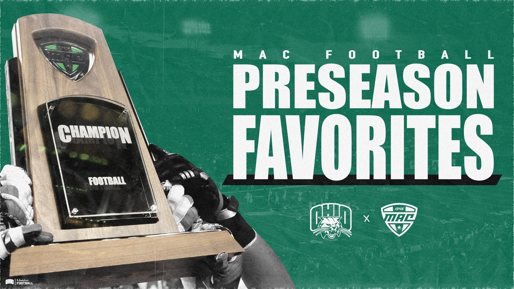 Ohio Football Picked to Win 2019 Marathon MAC Football Championship Game in Media Preseason Poll