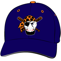 Orange Coast College Pirates Hat with Logo