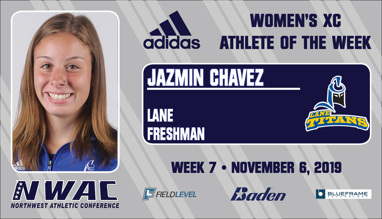 Adidas Athlete of the Week graphic for Jazmin Chavez