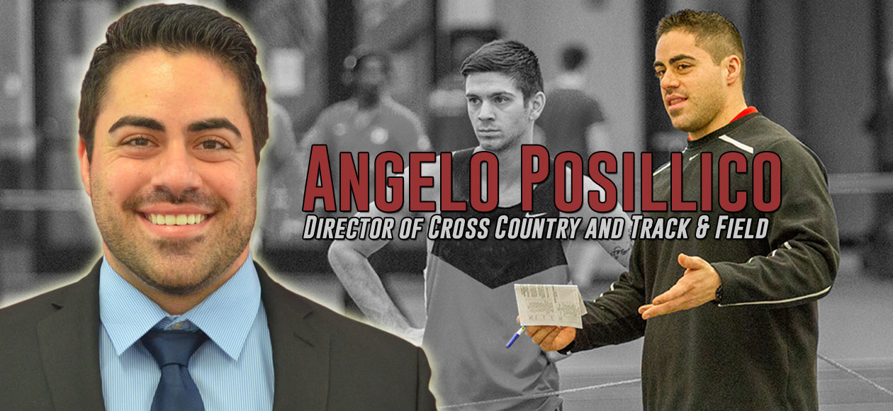 Angelo Posillico Named the Director of Cross Country and Track & Field at Springfield College