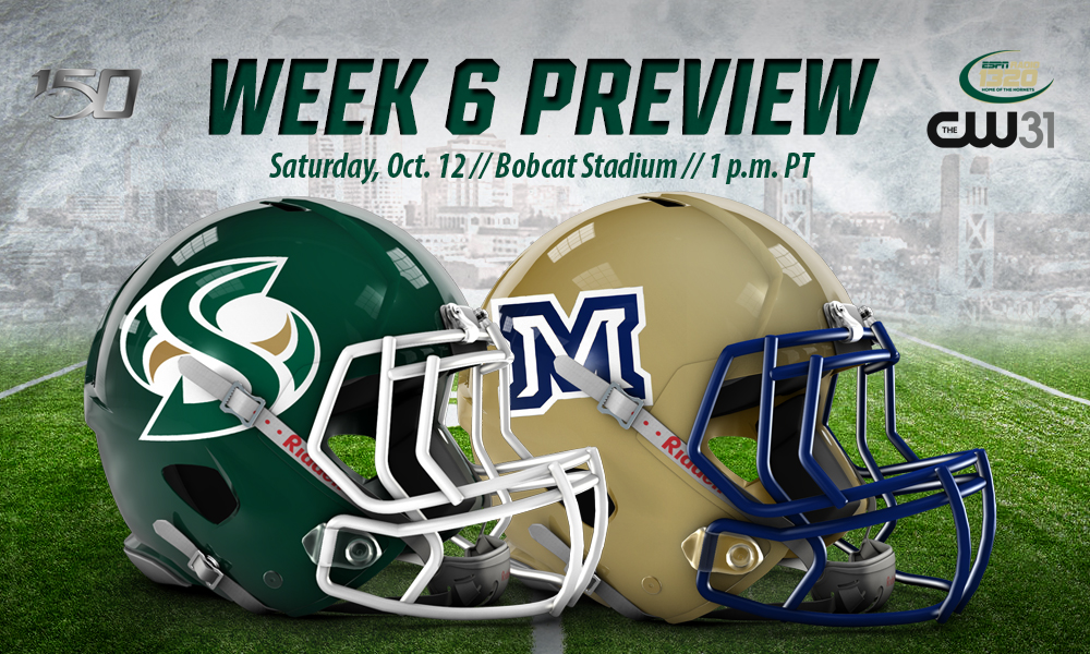 FOOTBALL ROLLS INTO #6 MONTANA STATE FOR SATURDAY SHOWDOWN