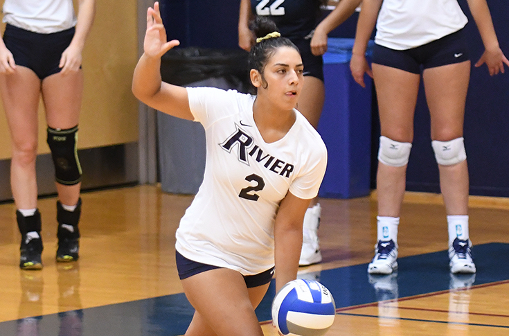 Women's Volleyball: Raiders swept at Simmons, 3-0
