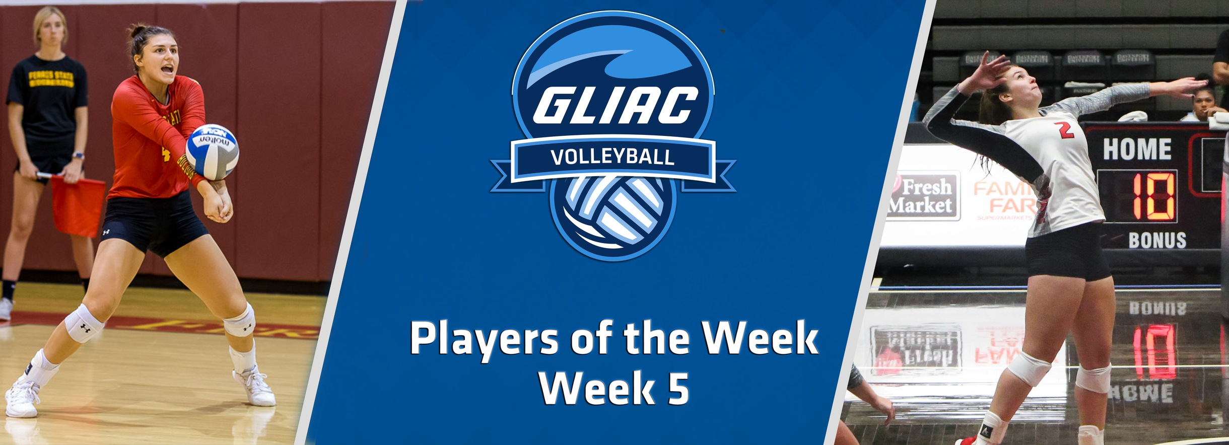 FSU's Cappel, DU's Herr Claim GLIAC Volleyball Players of the Week