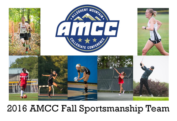 Fall Sportsmanship Teams Announced by the AMCC