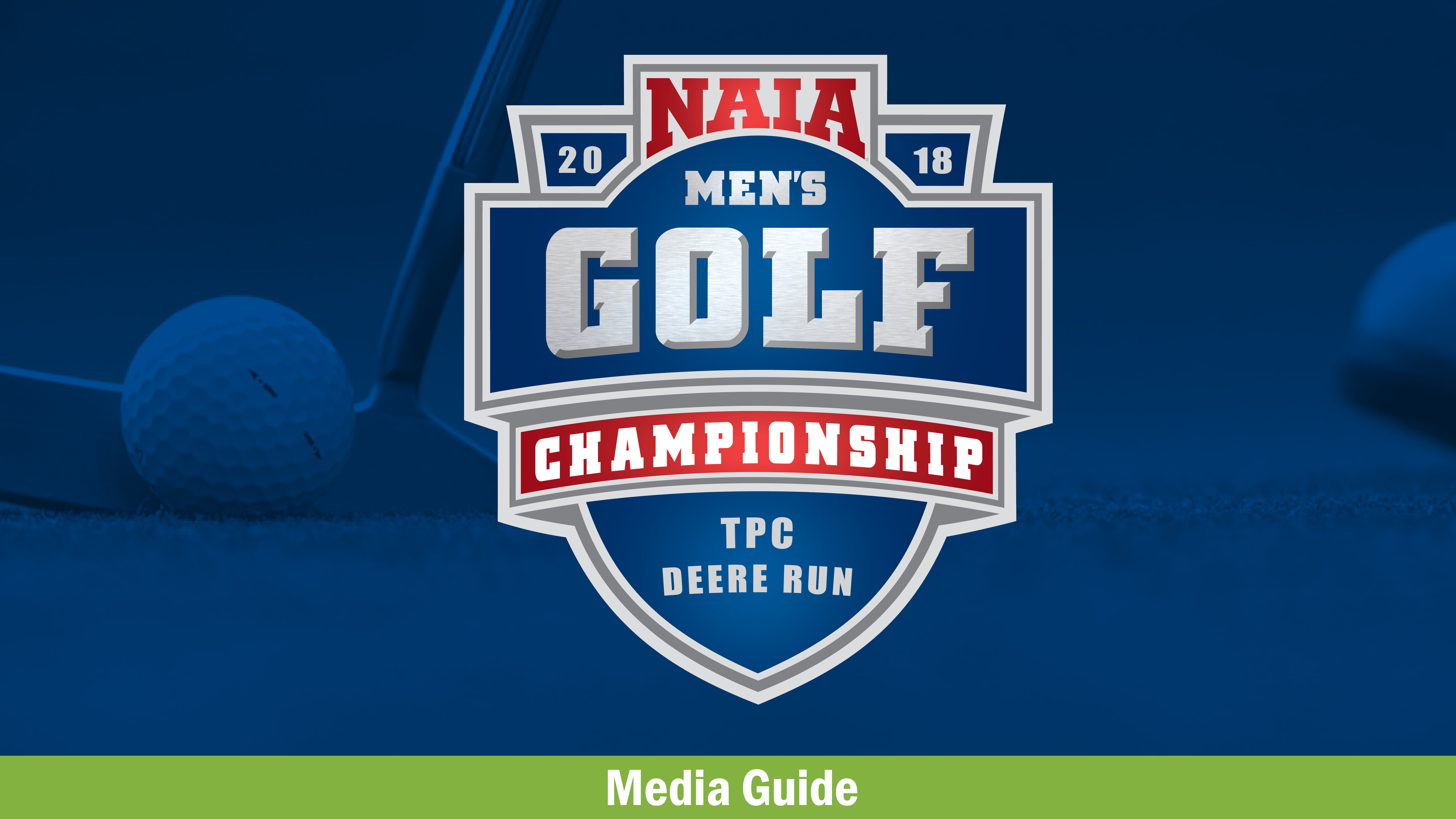 Men's Golf Media Guide