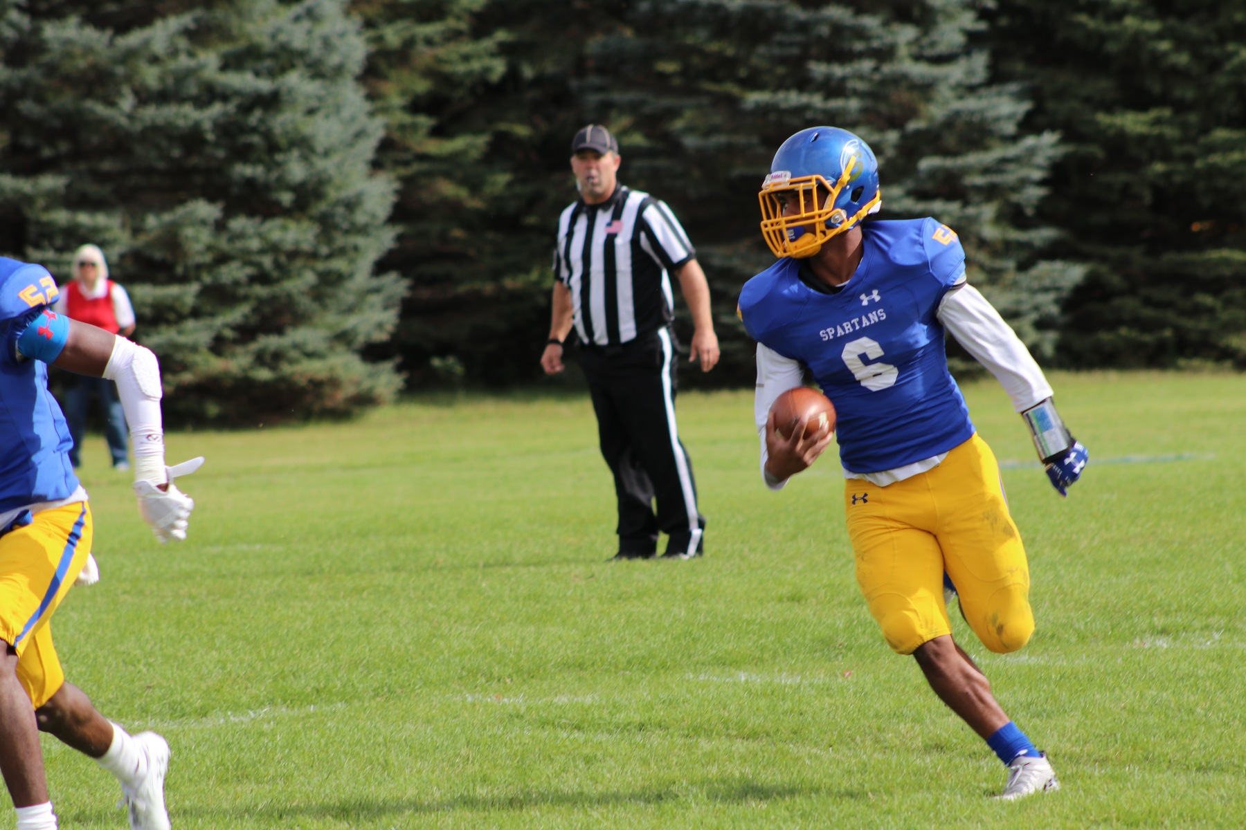 Wildcats Rushing Attack To Much For Spartans