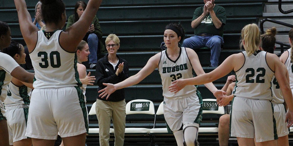 Donovan and Ireland Lead Husson to 88-70 Win over Bears in Emmanuel College Tip-Off Tournament